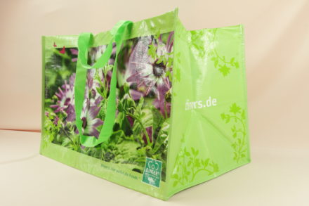PP Dingels Tasche PP Tasche mit Gartenmotiv 10540 vorne 10124